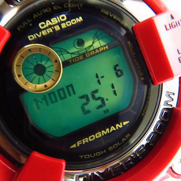G-SHOCK/Gショック FROGMAN/フロッグマン 30周年記念モデル ライジングレッド タフソーラー GF-8230A-4JR /000_画像5
