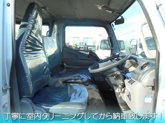 H25 三菱ふそう キャンター 6人乗りWキャブ 最大積載1450kg フルタイム4WD デュオニック ターボ車 車検付 #K7228_画像6