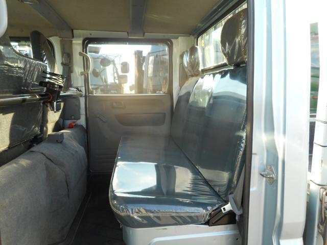 H25 三菱ふそう キャンター 6人乗りWキャブ 最大積載1450kg フルタイム4WD デュオニック ターボ車 車検付 #K7228_画像7