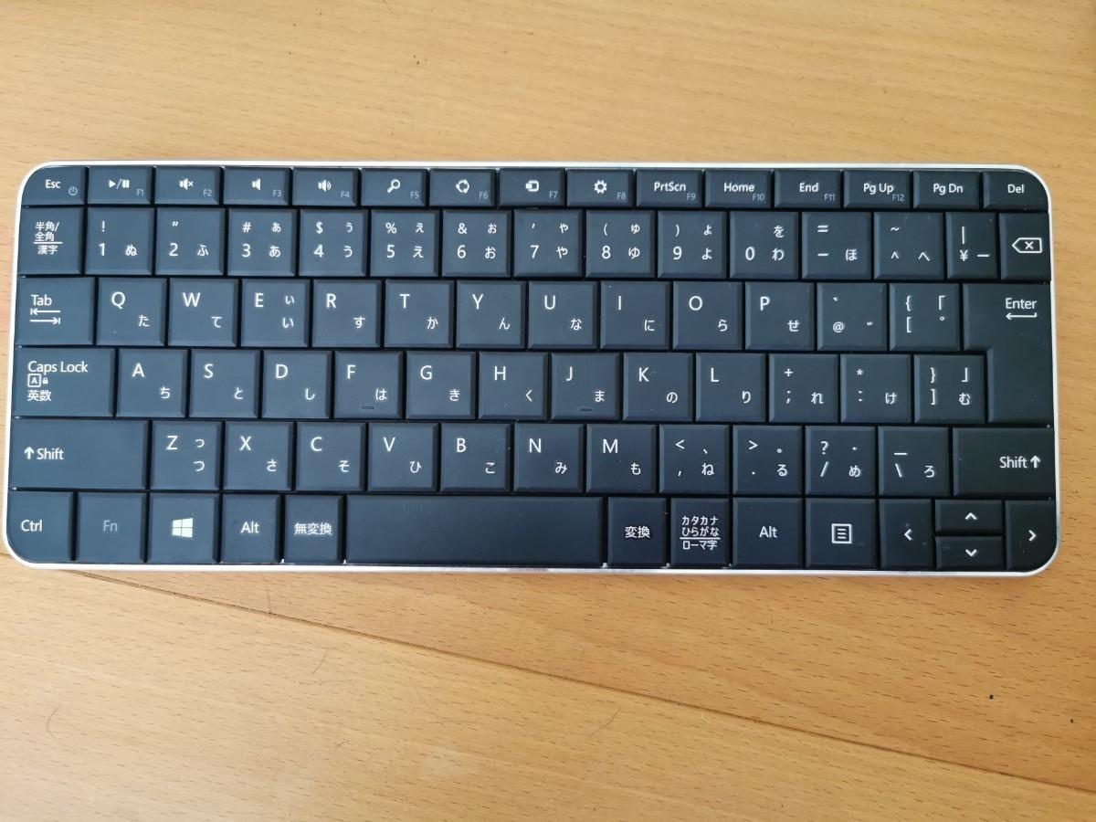Microsoft ワイヤレスキーボード Bluetooth