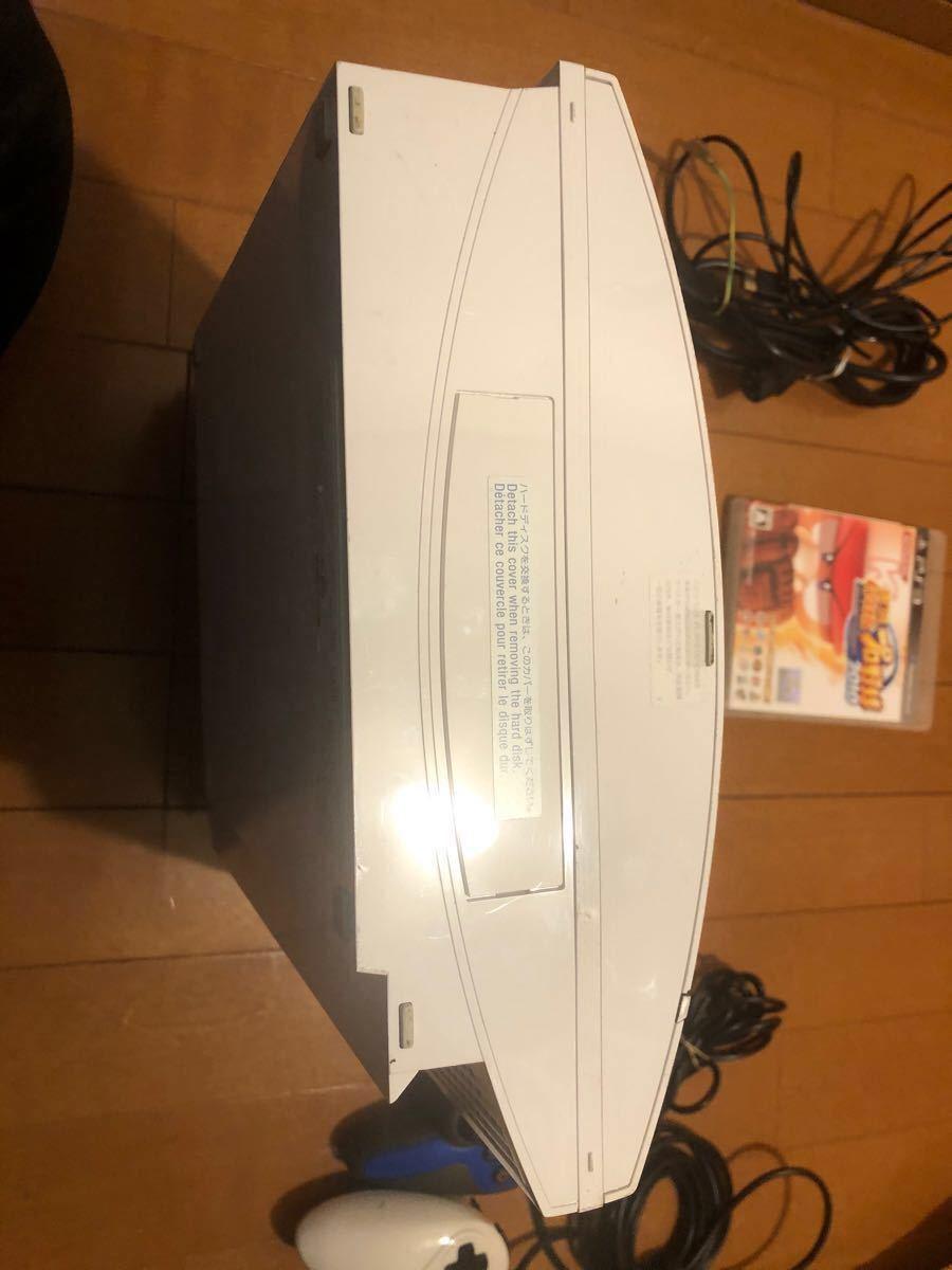 PS3本体 CECHH00+互換コントローラー2個+おまけソフト 動作確認済
