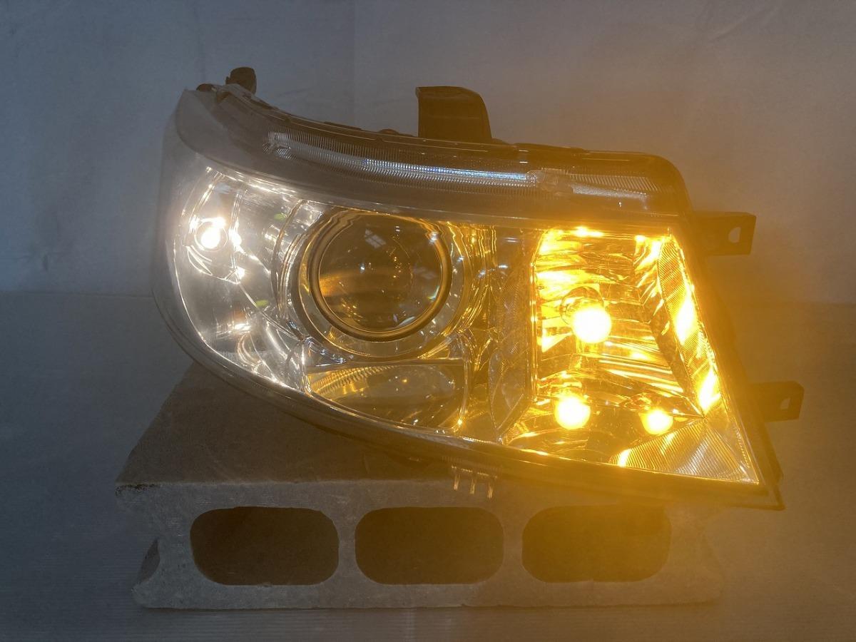 SUZUKI スズキ ワゴンR スティングレー MH23S 純正 HIDヘッドライト 右 KOITO100-59191 中古_画像7
