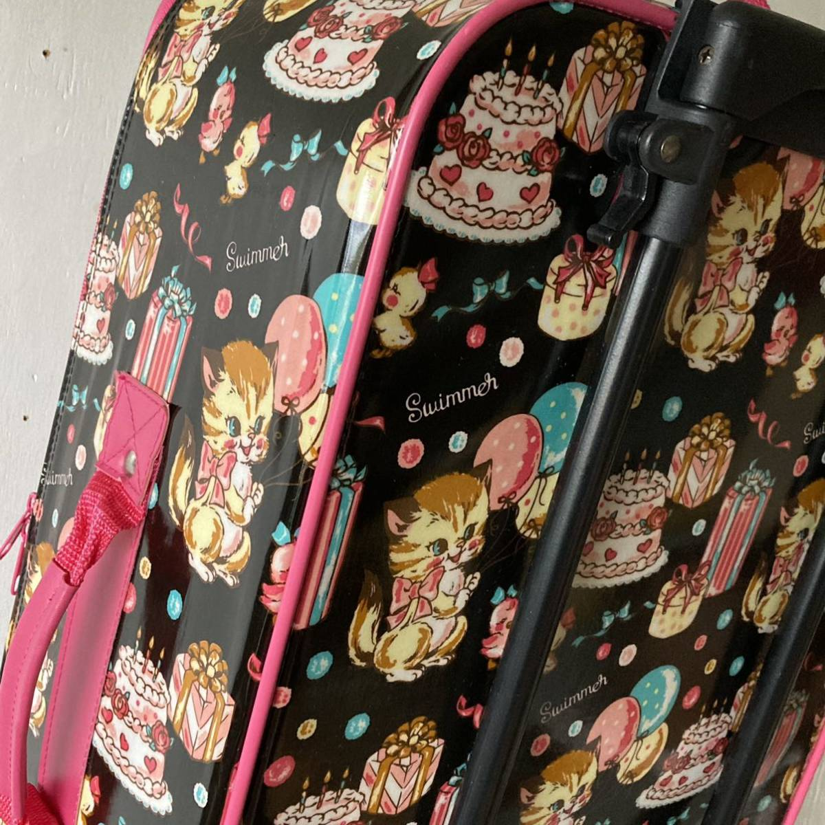 SWIMMER キャリーバッグ スイマー トランク スーツケース トラベル 旅行カバン _画像9