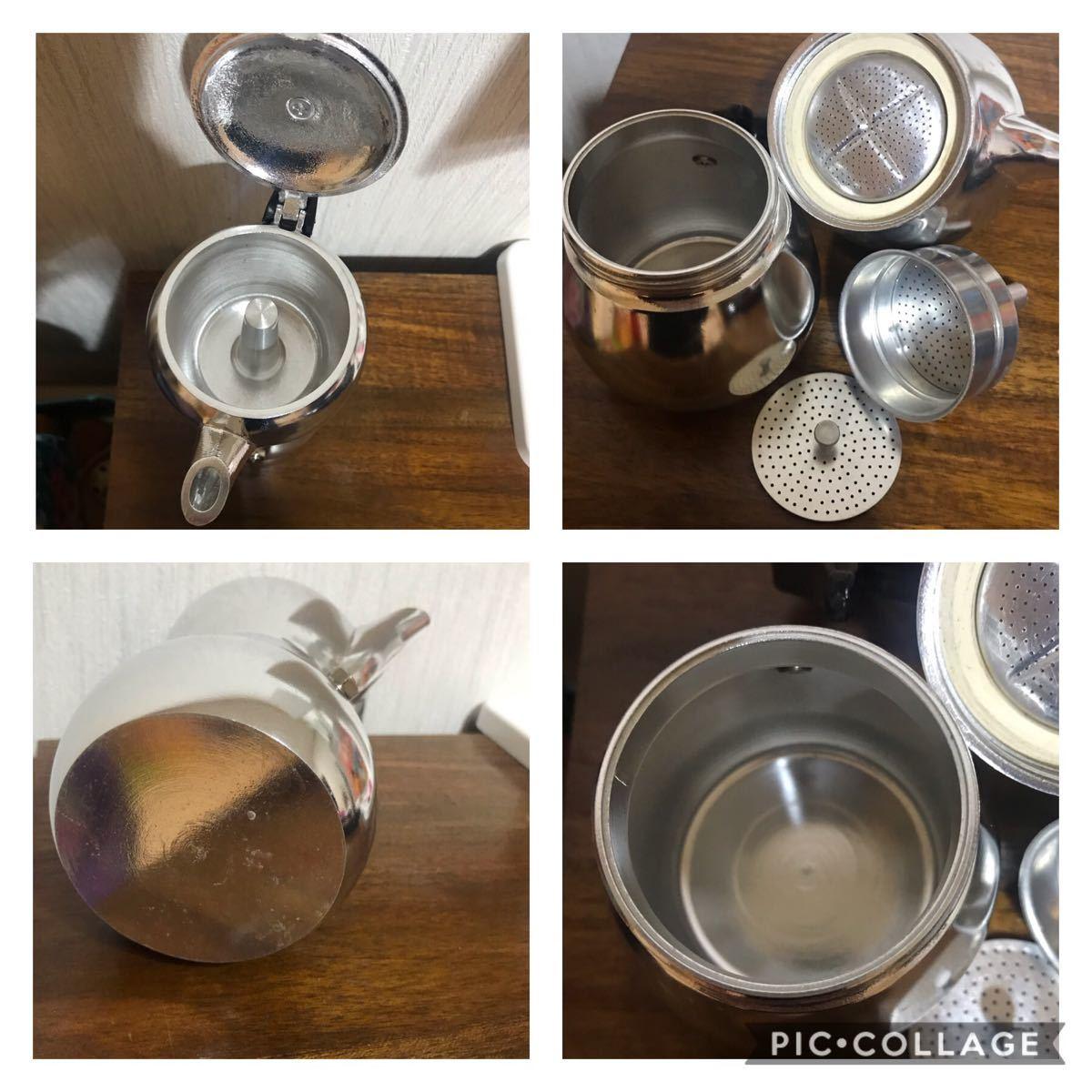 signora マキネッタ 直火式 コーヒーメーカー エスプレッソメーカー