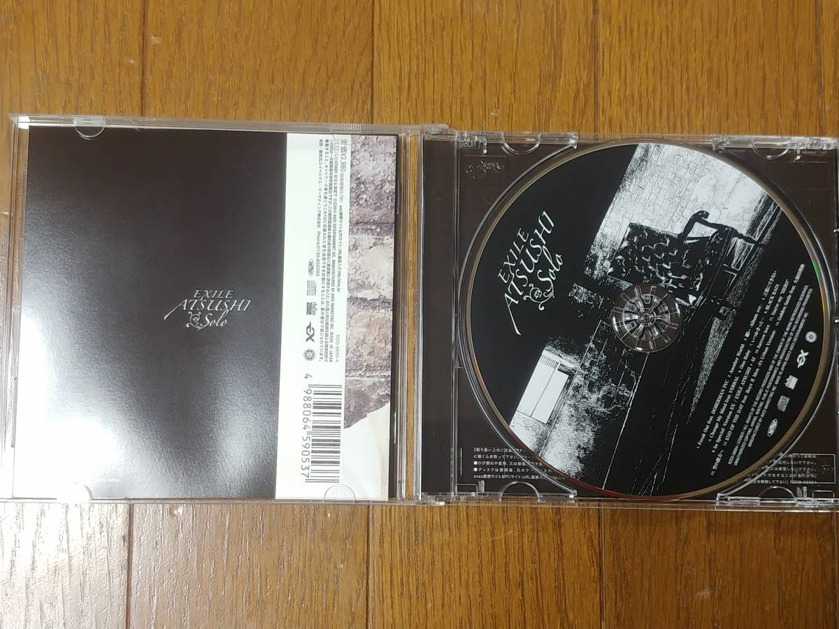 EXILE ATSUSHI solo CD 美品 帯付き_画像3