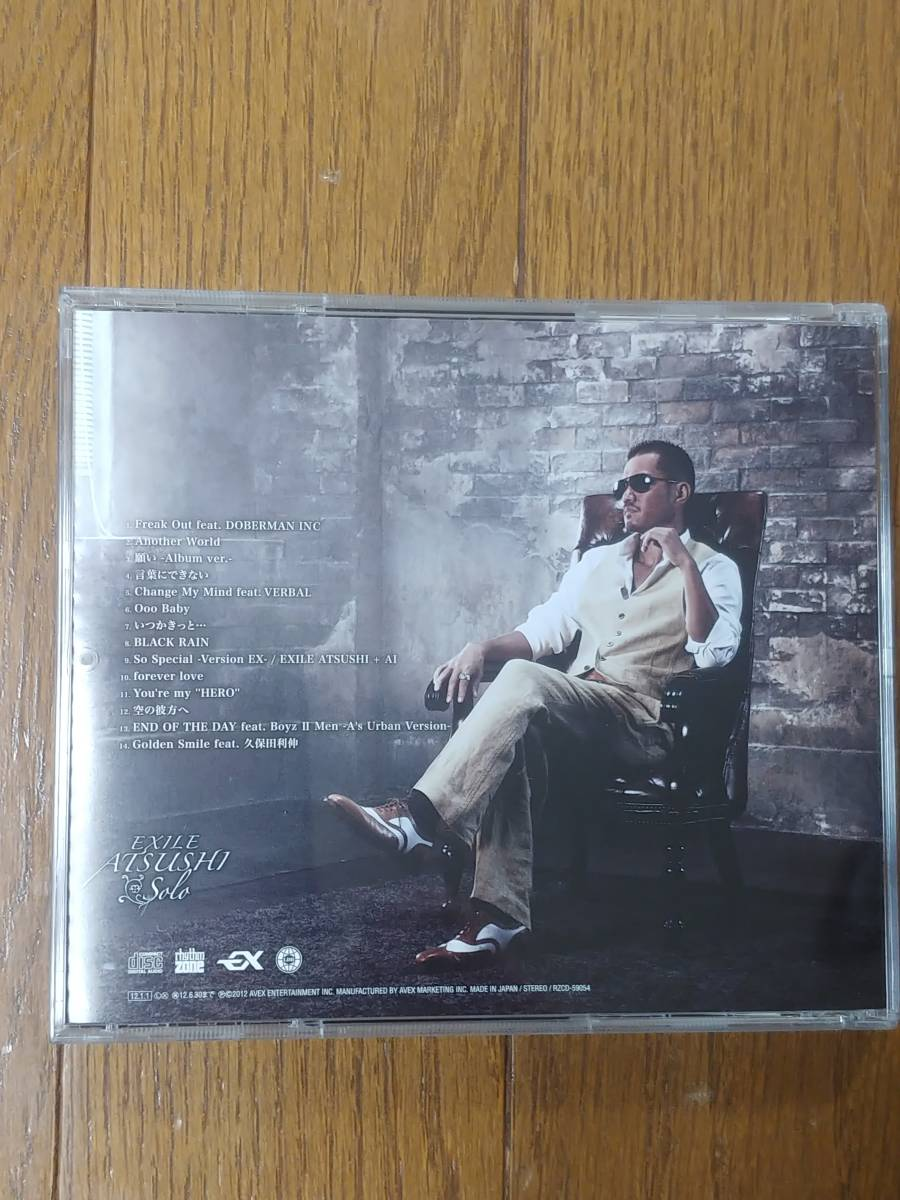 EXILE ATSUSHI solo CD 美品 帯付き_画像2