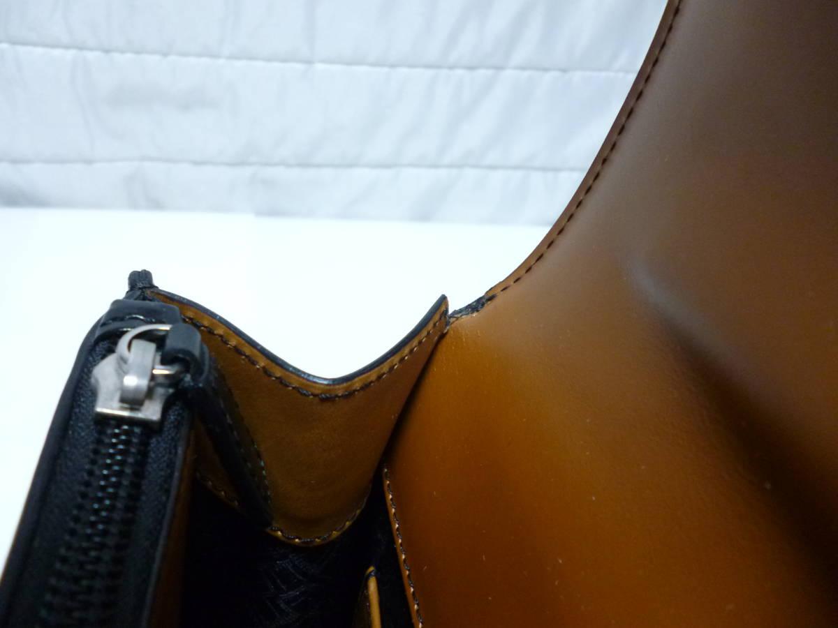 ダンヒル dunhill ビジネスバッグ YR8010A コンフィデンシャル 極美品!!_画像9