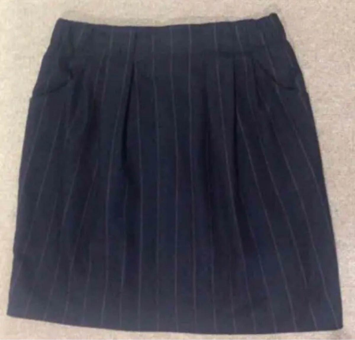 ページボーイストライプスカート