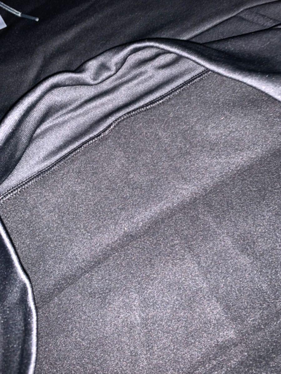 新品 サイズ 4XL「XXXXL」アンダーアーマー UNDER ARMOUR パーカー ビックロゴ フーディー プルオーバー ブラック_画像8