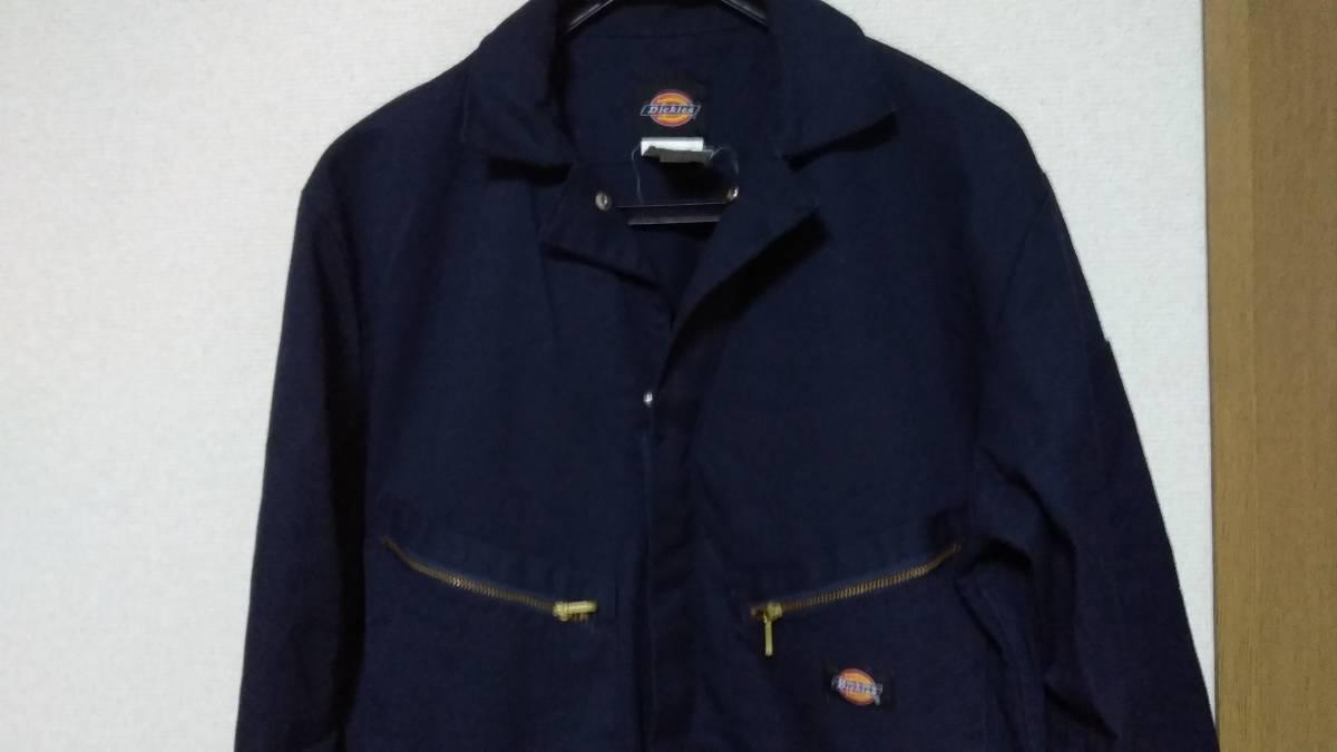 ☆Dickies(ディッキーズ)男性用長袖ツナギ 48799 サイズM-RG ネイビー☆_画像3