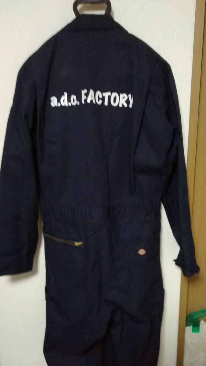 ☆Dickies(ディッキーズ)男性用長袖ツナギ 48799 サイズM-RG ネイビー☆_画像4