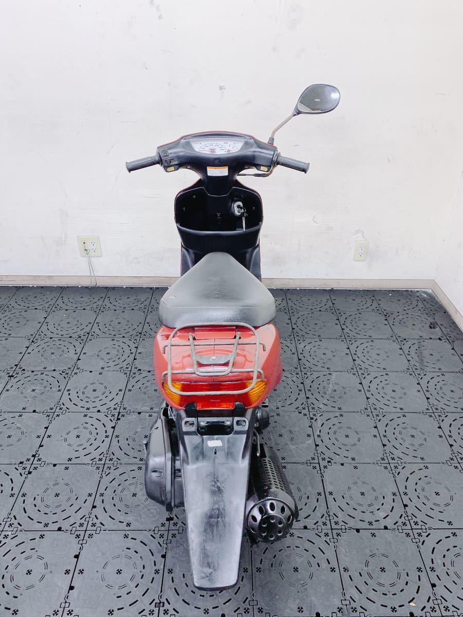 HONDA Dio ディオ AF34 馬力の2サイクル 通勤通学にオススメ ちょっとした足に最適 福岡発どこでも陸送可能_画像8