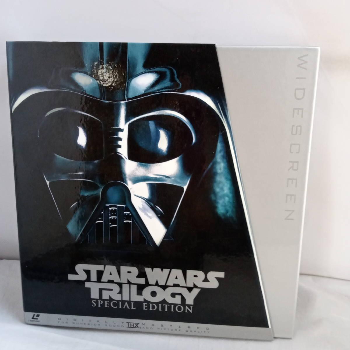 L2721 LD・レーザーディスク STAR WARS TRILOGY SPECIAL EDITION レーザーディスク スターウォーズ トリロジー_画像1