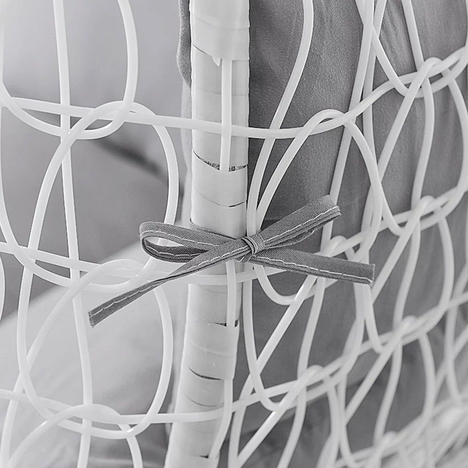 ハンモック椅子スイング庭屋外ソフトシートクッションシート 220 キロ寮の寝室の吊椅子バック枕(Black)_画像7