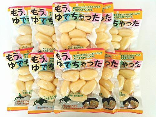 送料無料 カドウフーズ レトルト じゃがいも もうゆでちゃった 6個入×10パック / 北海道 無添加 BBQ 非常食 野菜_画像1