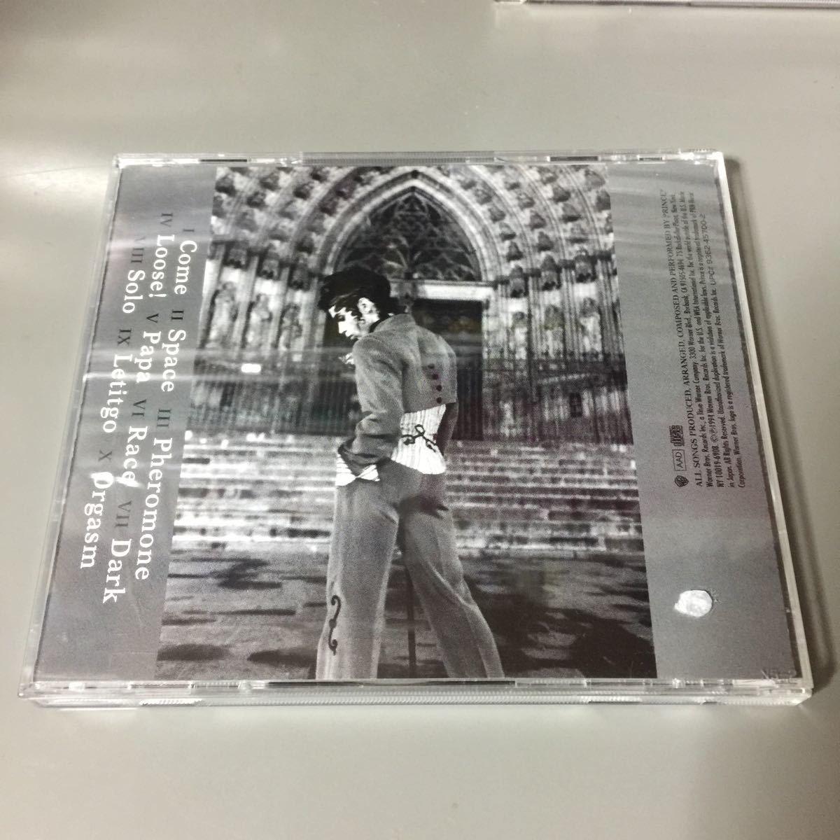 プリンス 1958~1993 Come 国内盤CD