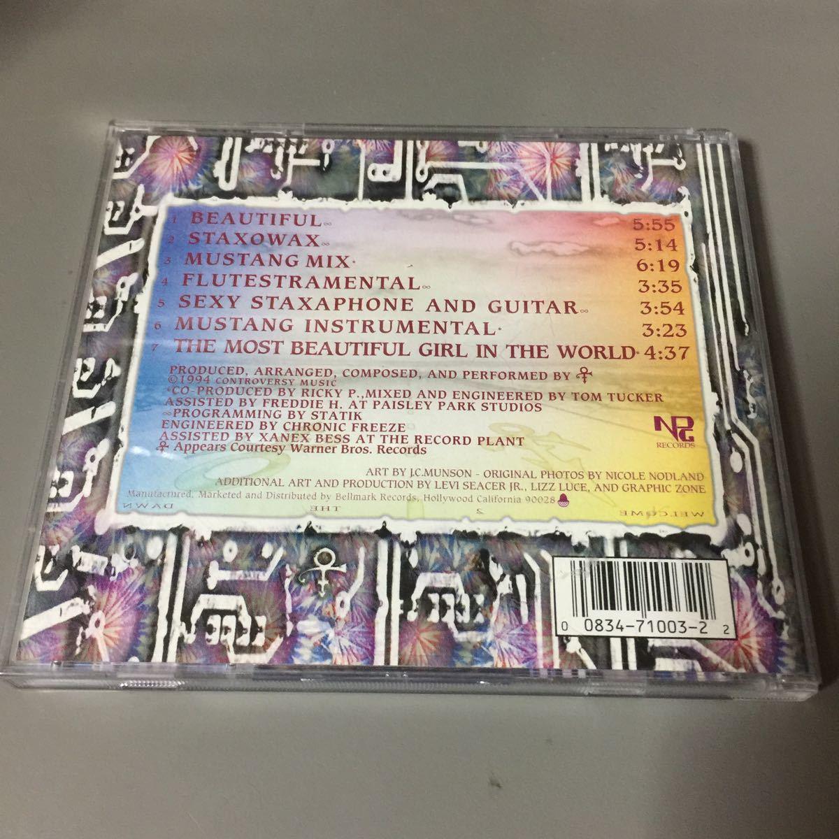 プリンス The Beautiful Experience USA盤CD
