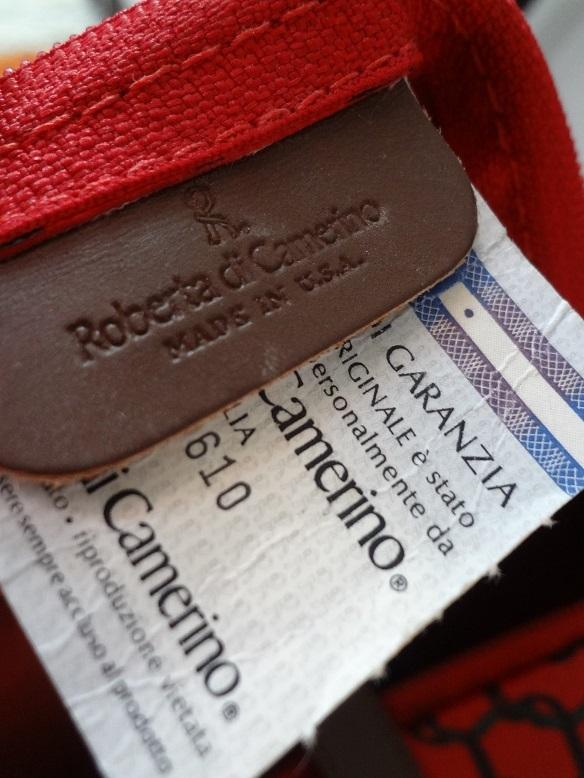 □□□□□ RobertadiCamerino/ロベルタディカメリーノ/ミニボストンバッグ! □□□□□_画像10