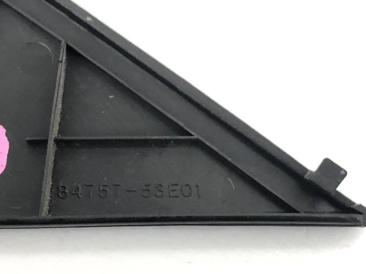 _b44997 スズキ アルトワークス ie/s Fリミテッド E-HB11S フロントドアミラー カバー トリム 内装 左 LH RH D02 84757-53E01 HA11S HA21S_画像3