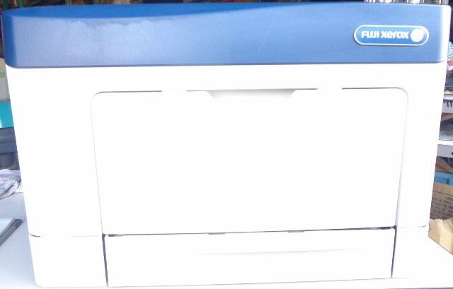 FUJI XEROX 富士ゼロックス DocuPrint P350d モノクロレーザープリンター NL300048_画像2