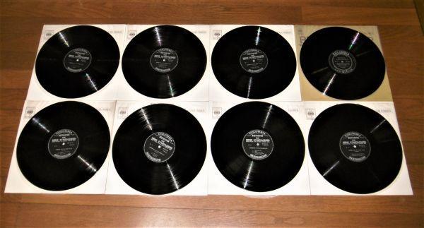 【即決】LPレコード8枚組「ワルター練習レコード付き!ワルター ベートーヴェン交響曲全集」CBS 日本コロンビア_画像3