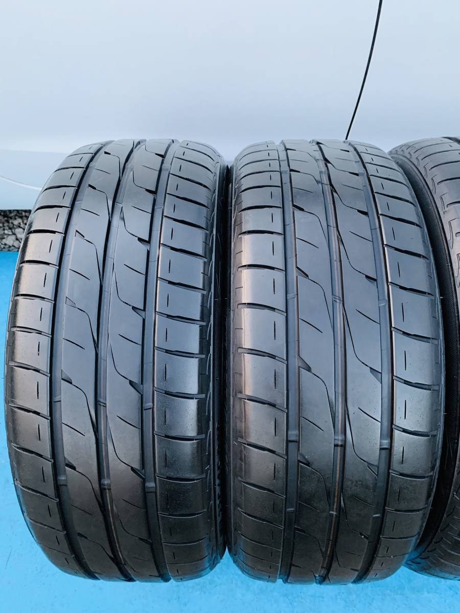 中古タイヤ 4本 BRIDGESTONE 225/45/18 2015年製 タイヤの状態良い_画像4