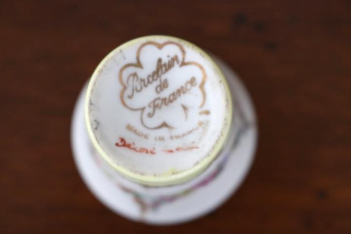 ■ 手描きリモージュ焼きのアンティーク、スモールカップ/Sale ■_画像4