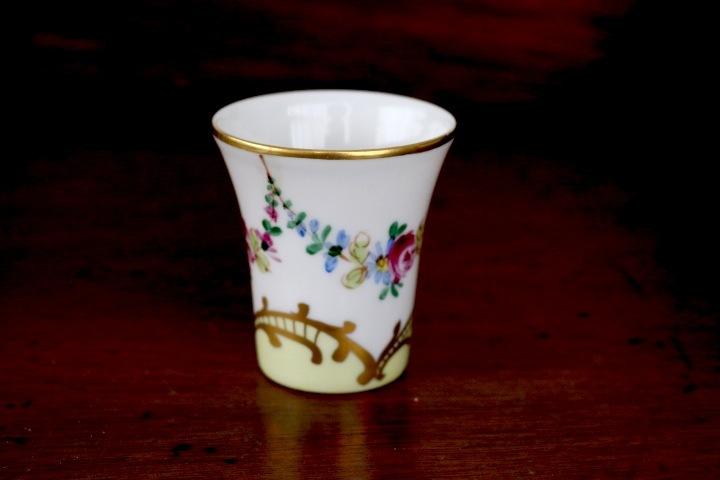 ■ 手描きリモージュ焼きのアンティーク、スモールカップ/Sale ■_画像2