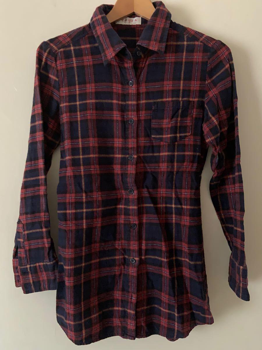長袖シャツ チェックシャツ ネルシャツ