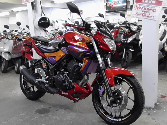 「◆ヤマハ MT-25 2016年 24,112km カスタムペイント ETC ドライブレコーダー フェンダーレス等 諸費用込40.99万 ケーズバイク本店」の画像3