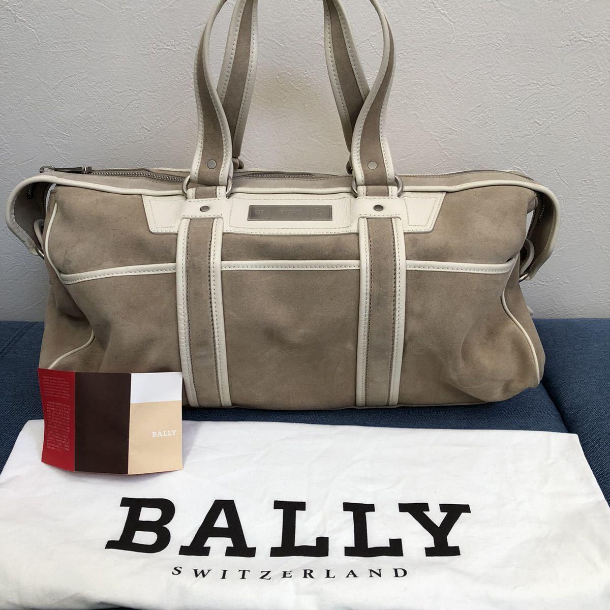 BALLY バリー メンズ イタリア製 トートバッグ ボストンバッグ 銀座店購入 参考価格29万