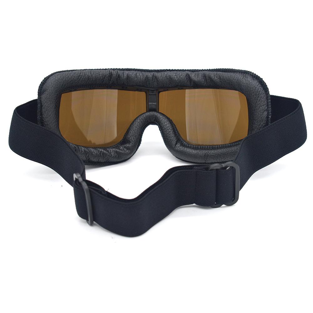 安全メガネ 全3色! コロナウイルス対策 花粉症対策 スポーツメガネ オートバイ 透明レンズ 防塵 防風 傷防止 レザー 折り畳み式 D5889_画像9