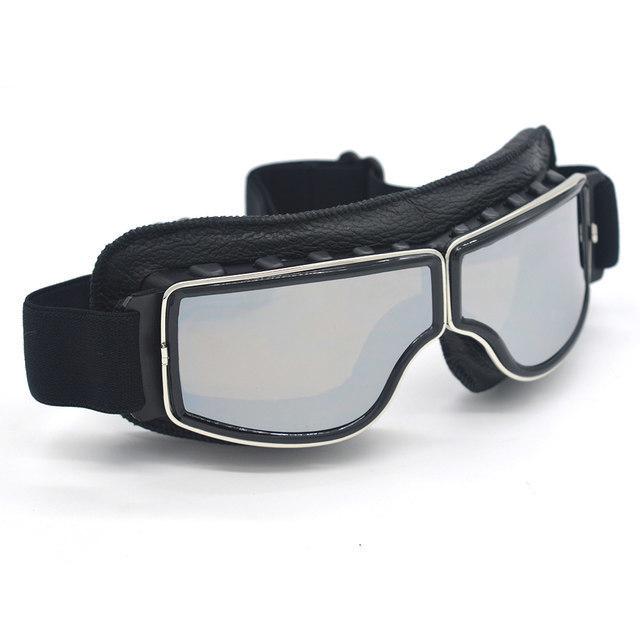 安全メガネ 全3色! コロナウイルス対策 花粉症対策 スポーツメガネ オートバイ 透明レンズ 防塵 防風 傷防止 レザー 折り畳み式 D5889_画像8