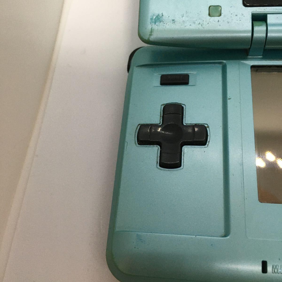 任天堂 Nintendo ニンテンドーDS ターコイズブルー タッチペン無し