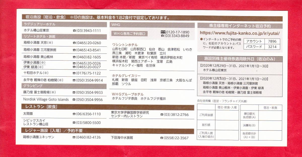 ●「3/31迄のチケットです!!」(最安送料=63円)●《2枚セット》【 藤田観光 株主優待券 ワシントン ホテル 50%割引券】_画像2