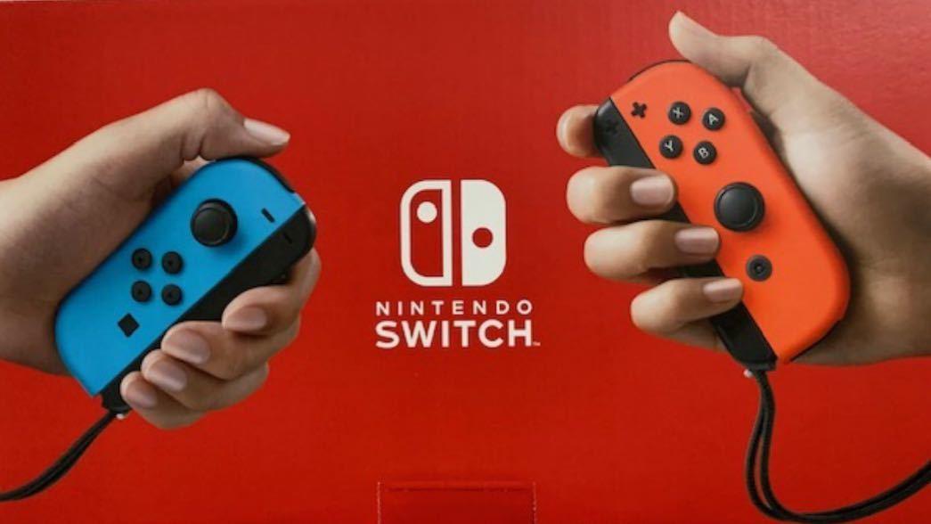 Nintendo Switch ニンテンドースイッチ本体 ネオンブルー ネオンレッド ニンテンドースイッチ Switch本体 任天堂 Nintendo Joy-Con (L) _画像2