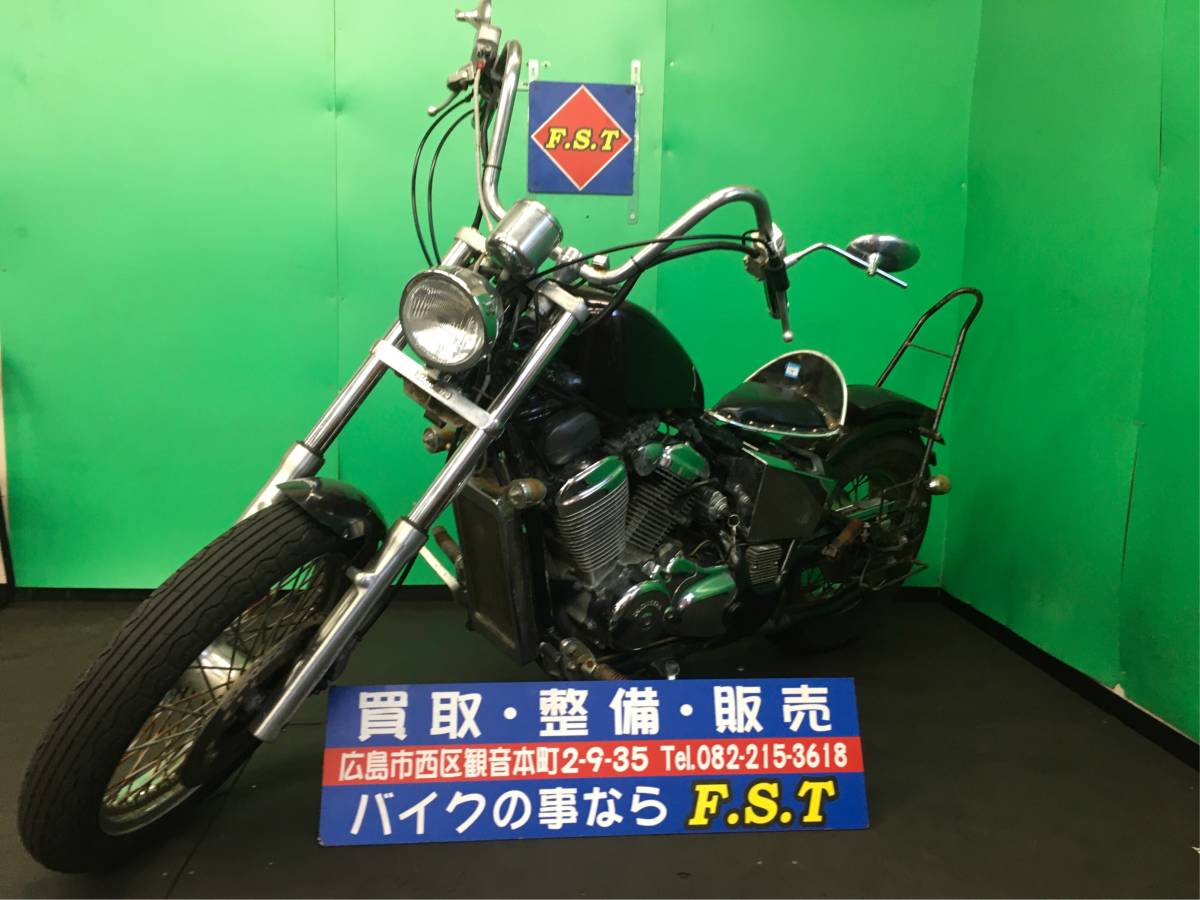 「HONDA ホンダ スティード400 現状販売 カスタム車両 エンジン実動 広島より」の画像1
