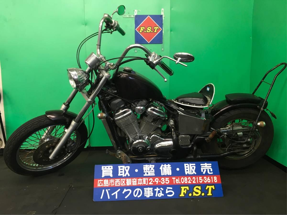 「HONDA ホンダ スティード400 現状販売 カスタム車両 エンジン実動 広島より」の画像3