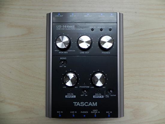 タスカム USB 2.0 オーディオ/MIDIインターフェース US-144MKⅡ TASCAM _画像1