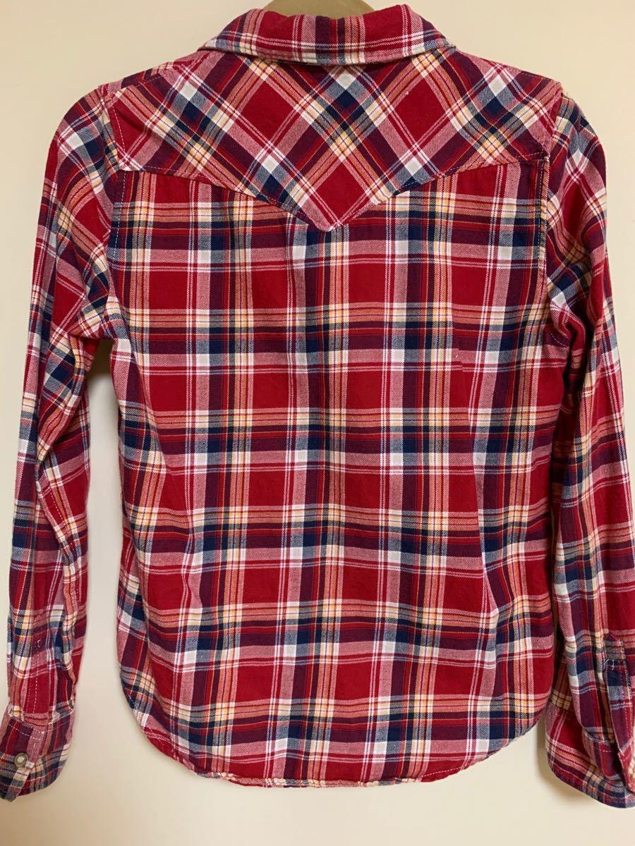 長袖シャツ ネルシャツ チェック柄