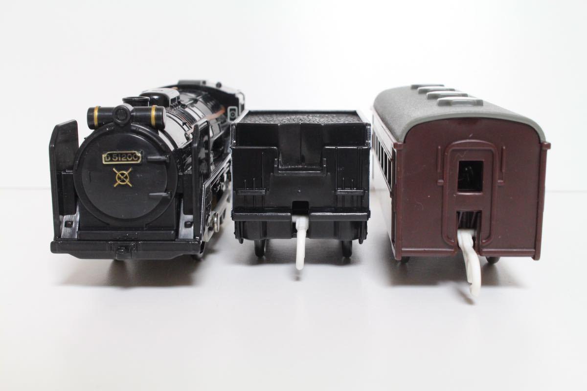 プラレール ライト付 D51 200号機蒸気機関車 中古 清掃済 動作確認済 即決_画像2