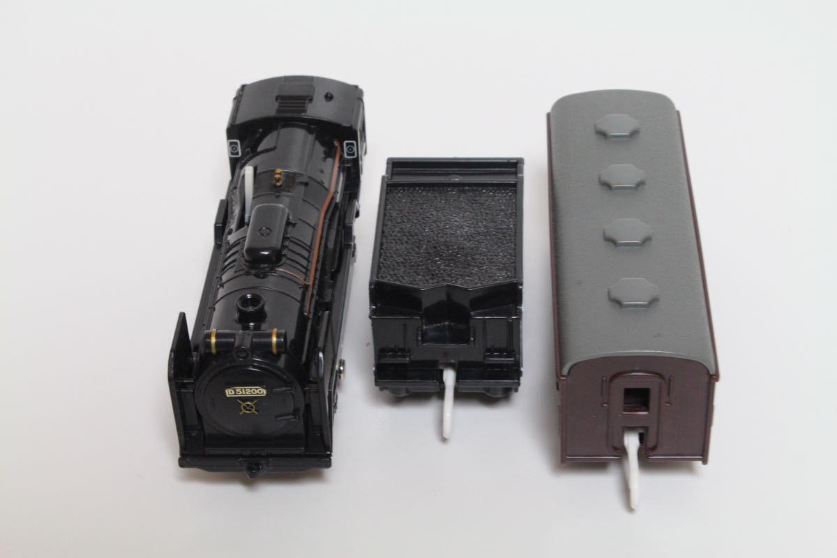 プラレール ライト付 D51 200号機蒸気機関車 中古 清掃済 動作確認済 即決_画像7