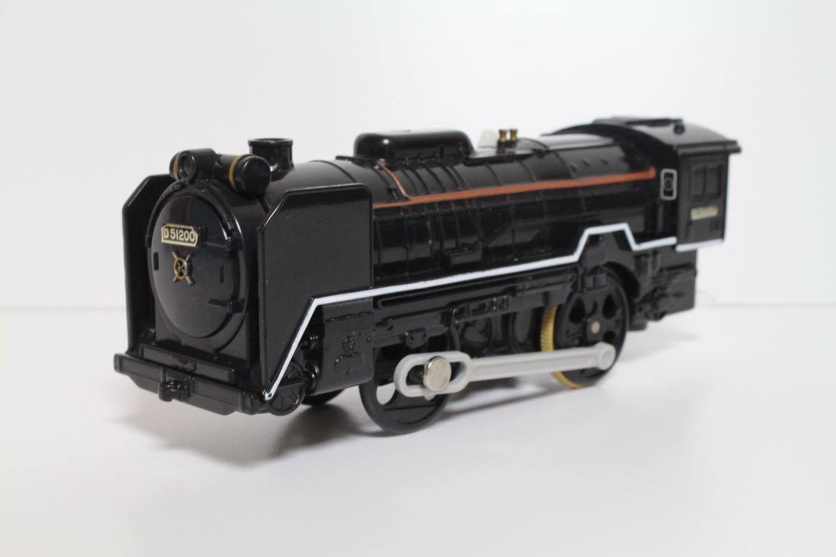 プラレール ライト付 D51 200号機蒸気機関車 中古 清掃済 動作確認済 即決_画像8
