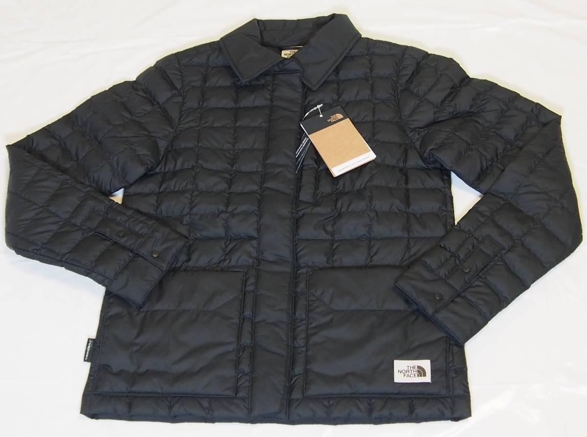 【USA購入、未使用タグ付】ノースフェイス レディース ジャケット XS ブラック The North Face ThermoBall Eco Snap Jacket_画像1