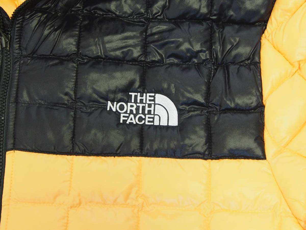 【USA購入、未使用タグ付】ノースフェイス メンズ Thermoball Eco ジャケット フード付 L イエロー The North Face Thermoball Eco Jacket_画像2