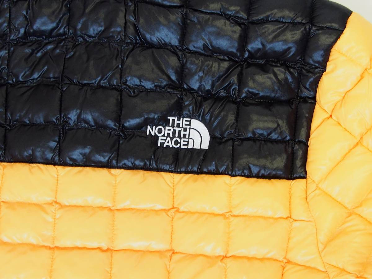 【USA購入、未使用タグ付】ノースフェイス メンズ Thermoball Eco ジャケット フード付 L イエロー The North Face Thermoball Eco Jacket_画像4