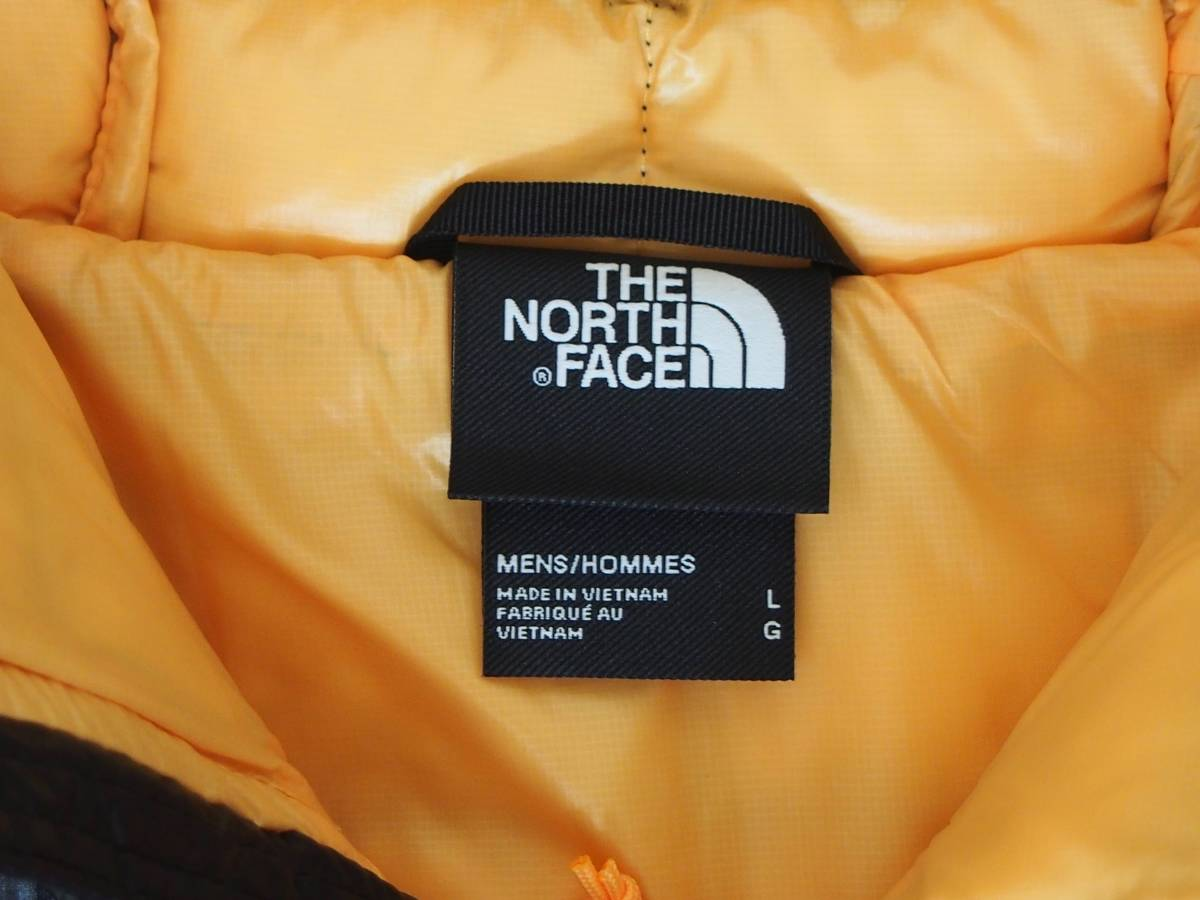 【USA購入、未使用タグ付】ノースフェイス メンズ Thermoball Eco ジャケット フード付 L イエロー The North Face Thermoball Eco Jacket_画像5