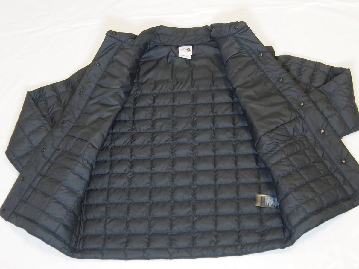 【USA購入、未使用タグ付】ノースフェイス レディース ジャケット XS ブラック The North Face ThermoBall Eco Snap Jacket_画像4