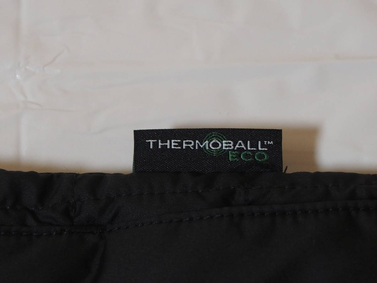 【USA購入、未使用タグ付】ノースフェイス レディース ジャケット XS ブラック The North Face ThermoBall Eco Snap Jacket_画像5