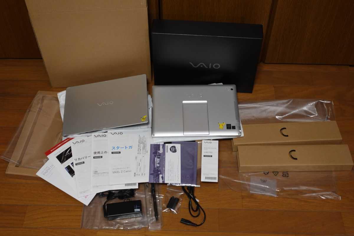 VAIO Z Canvas i7 4770HQ 8GB SSD256GB Iris Pro 12.3型 WQXGA+ タッチパネル Windows10 Pro ワンオーナー モンスター級爆速 美品